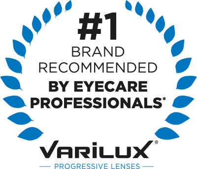 Varilux (no line) bifocals are available at Eyecare Associates of Lee's Summit